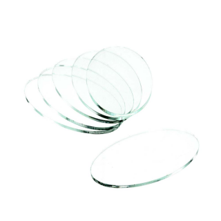 Clear Base Oval 75x42x3mm (5)