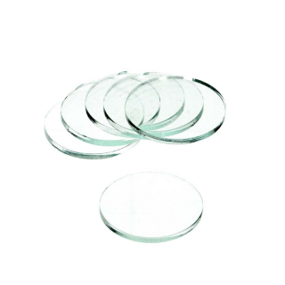 Clear Base Rund 2Inch/51mm x 3mm (5)