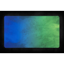 TCG Mat Blue Green Splash