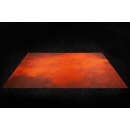 Splash Orange 6x3 Gaming Mat 2.0