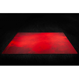 Splash Red 6x3 Gaming Mat 2.0