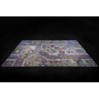 Corrupted Warzone City 44x30 Gaming Mat 2.0