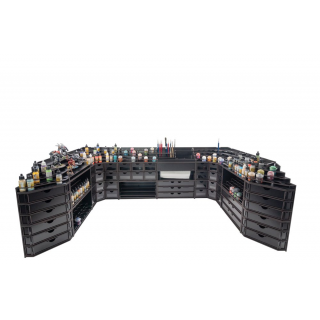 Black Paint Rack: Papier Modul