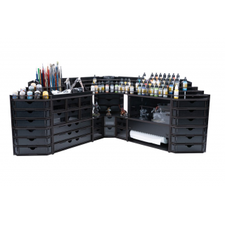 Black Paint Rack: Farbregal Top (Dropper)