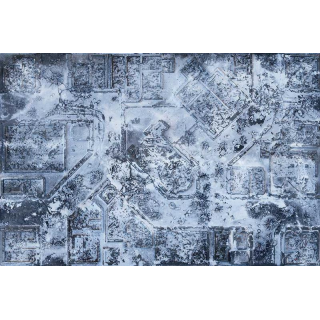 Winter Warzone City 6x4 Gaming Mat 2.0
