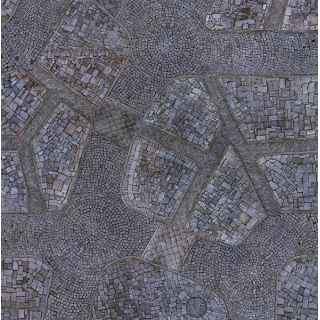 Cobblestone City 3x3 Gaming Mat 2.0