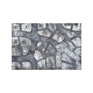 ** % SALE % ** Winter Cobblestone City 6x4 Gaming Mat