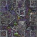 Corrupted Warzone City 4x4 Gaming Mat