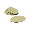 MDF Base Oval 170x105mm (10)