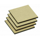 MDF Base Eckig 25x25mm (40)