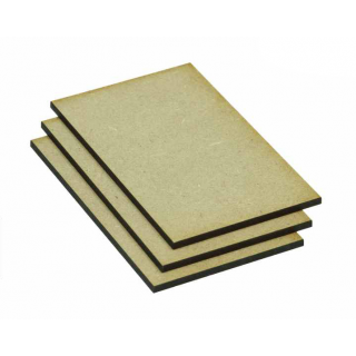MDF Base Eckig 75x50mm (10)